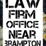 Law Firm Office Near Brampton