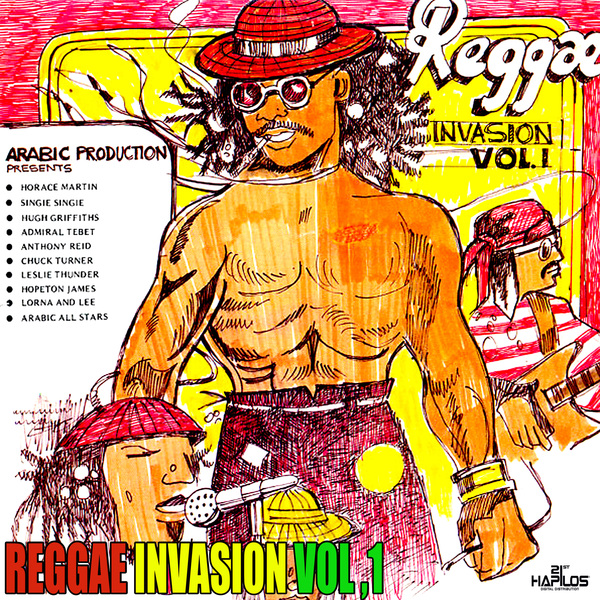 VARIOUS ARTISTS - REGGAE INVASION VOL.1 #ITUNES 1/25/19