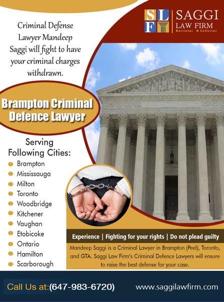 Brampton Criminal Defence Lawyer