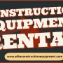Construction Equipment Rental Anaheim
