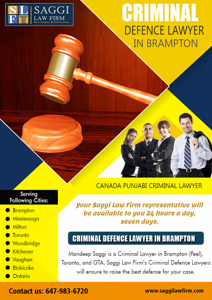 Criminal Defence Lawyer in Brampton