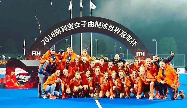 💥🧡Yeahhhhh WINNERS of the last Champions Trophy!!! 🧡💥 #proud #team #wedidit #HCT2018 #undefeated