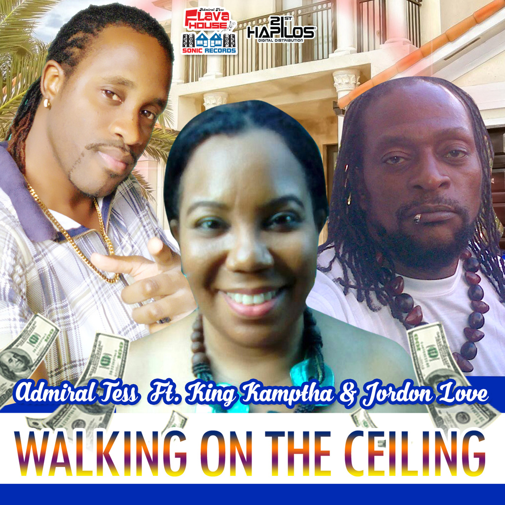 ADMIRAL TESS FT. KING KAMPTHA & JORDON LOVE - WALKING ON THE CEILLING - SINGLE #ITUNES 10/27/17