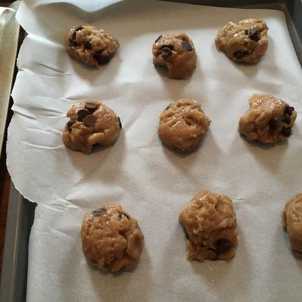 I'm using today's bonus hour to bake for @cookie_brigade