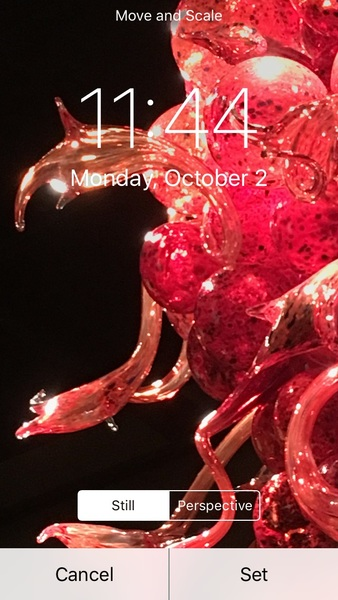 Tweeps, pls help me choose which pic is better phone lock screen. (Both from chihuly glas.s)
