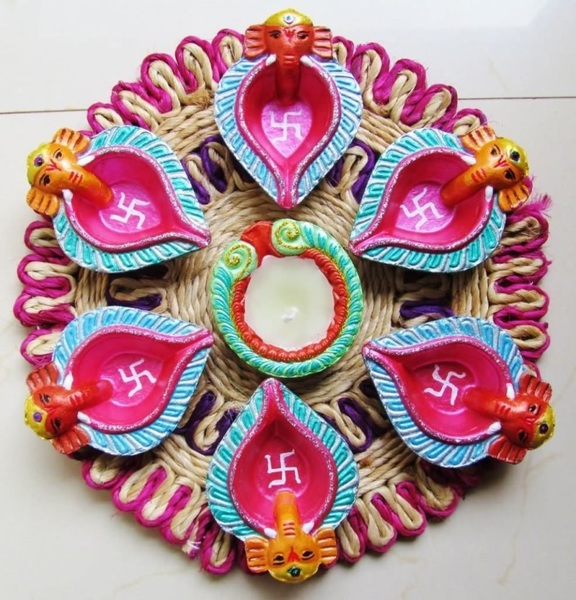 Diwali DIY Decoration Ideas You Must Try Diya Decoration