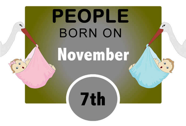 Numerological Personality Traits of People Born on November 7th