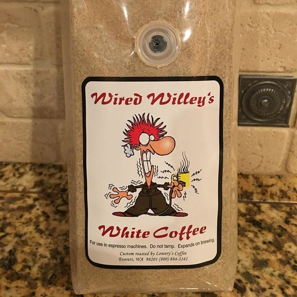 I have white coffee. Going to have to experiment with how to best brew this. May have to break out the aeropress again.