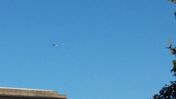 @LuchtvaartN_NL is de politieheli met een inzet boven #groningen bezig? Of gewoon voor de lol.