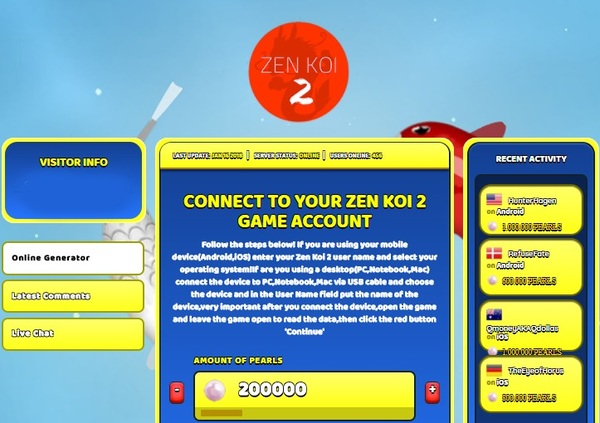 Zen Koi 2 Hack Cheat Generator Pearls Unlimited