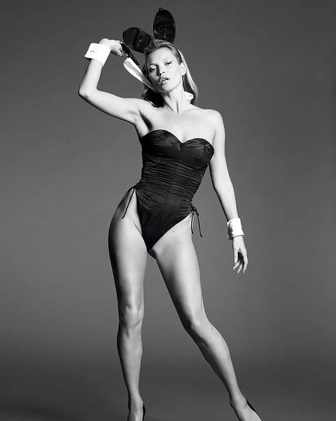 Het was januari 2014 toen #supermodel #katemoss op de cover stond. Tijdloze beelden wat ons betreft.