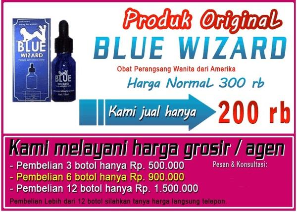 Obat Perangsang Cair Blue Wizard