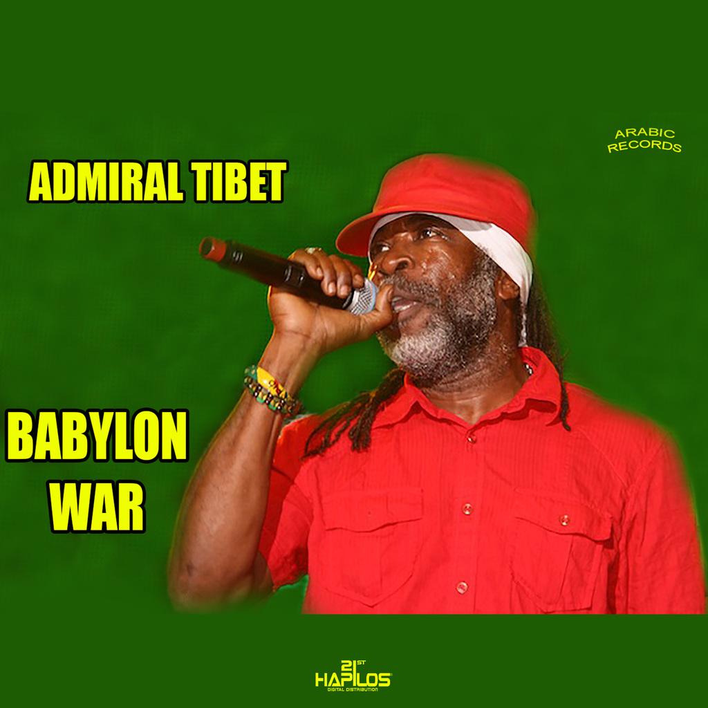 ADMIRAL TIBET - BABYLON WAR - SINGLE #ITUNES 12/14/18