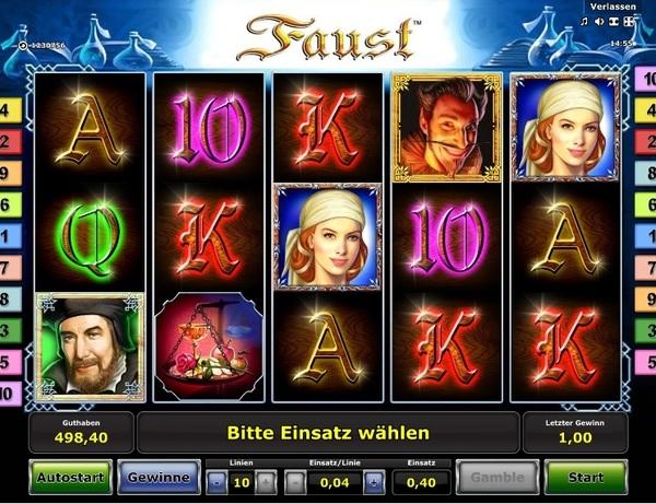 Faust Spielautomat