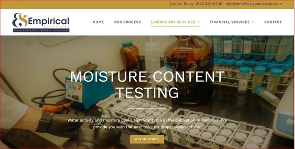 Cannabis Moisture Testing