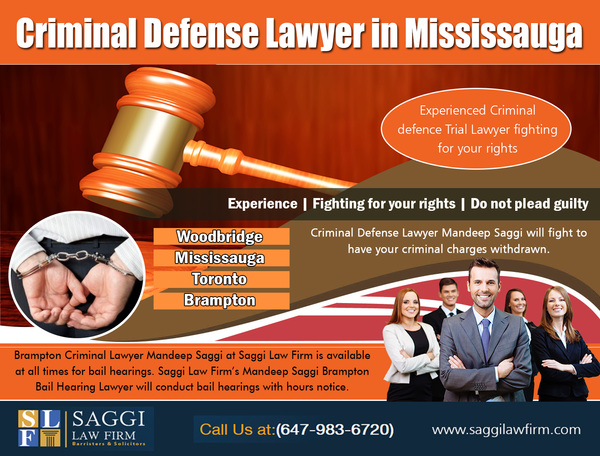 Criminal Defense Lawyer in Mississauga