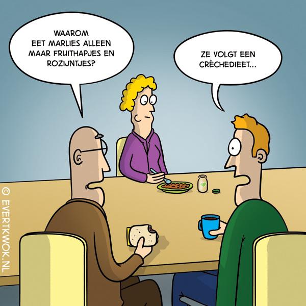 Dieet #cartoon