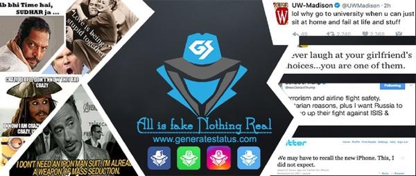 Generatestatus - Fake Instagram Post Generator and Tweet Maker