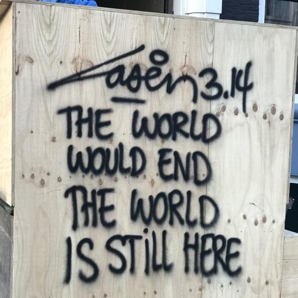 The world would end... #hiddemaadvocaten #laser314