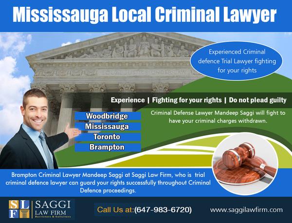 Mississauga Local Criminal Lawyer