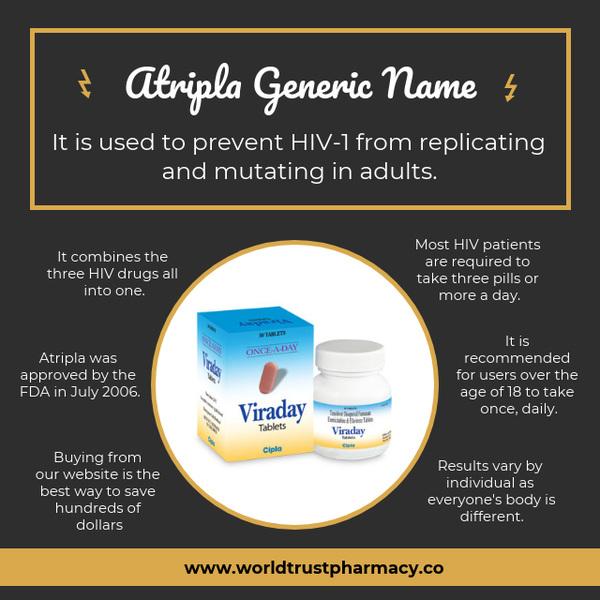 Atripla Generic Name