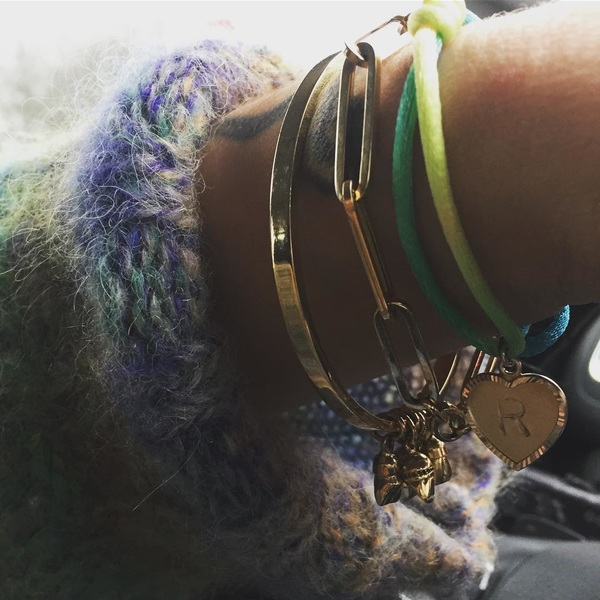 🌈keep 'em close 🌈 All my loved ones on one bracelet 🌈 sitting pretty 🐥🐥🐥 #toothtales #morepreciousthendiamonds