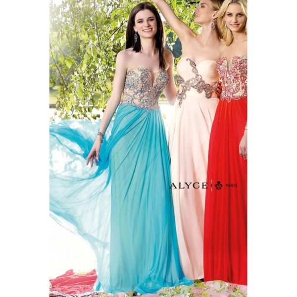 Alyce Paris | Prom Dress Style  6340 - Charming Wedding Party Dresses|Unique Wedding Dresses|Gowns for Bridesmaids for 2017