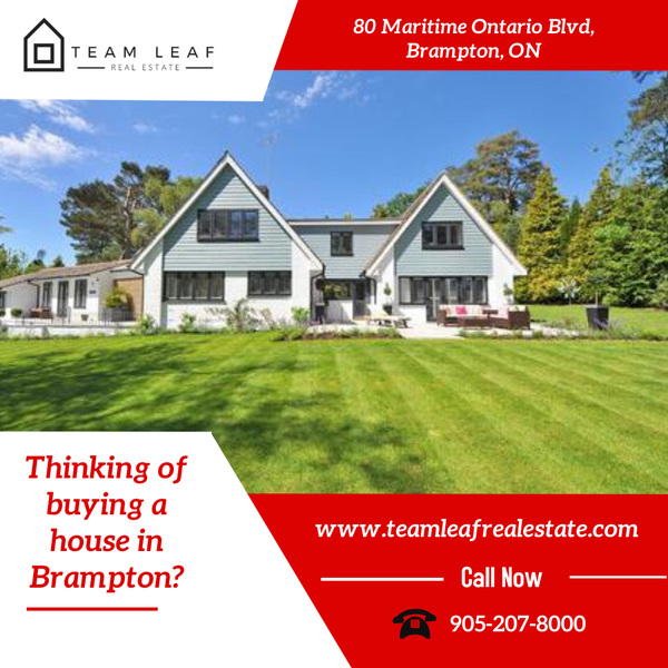 Thinking of buying a house in Brampton?