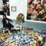 inspiring and beautiful exhibition! #tinkebell #barbarabroekman #ART