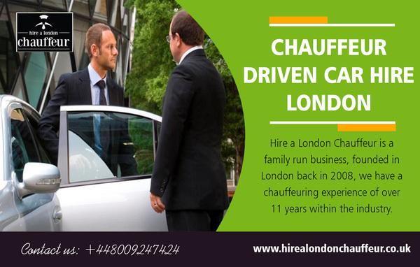 Chauffeur Driven Car Hire London