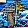 Toronto street art #graffiti #artpublicity #wallart #kensingtonmarket #toronto #contemporaryart #colours #citytrip #misspublicitynl
