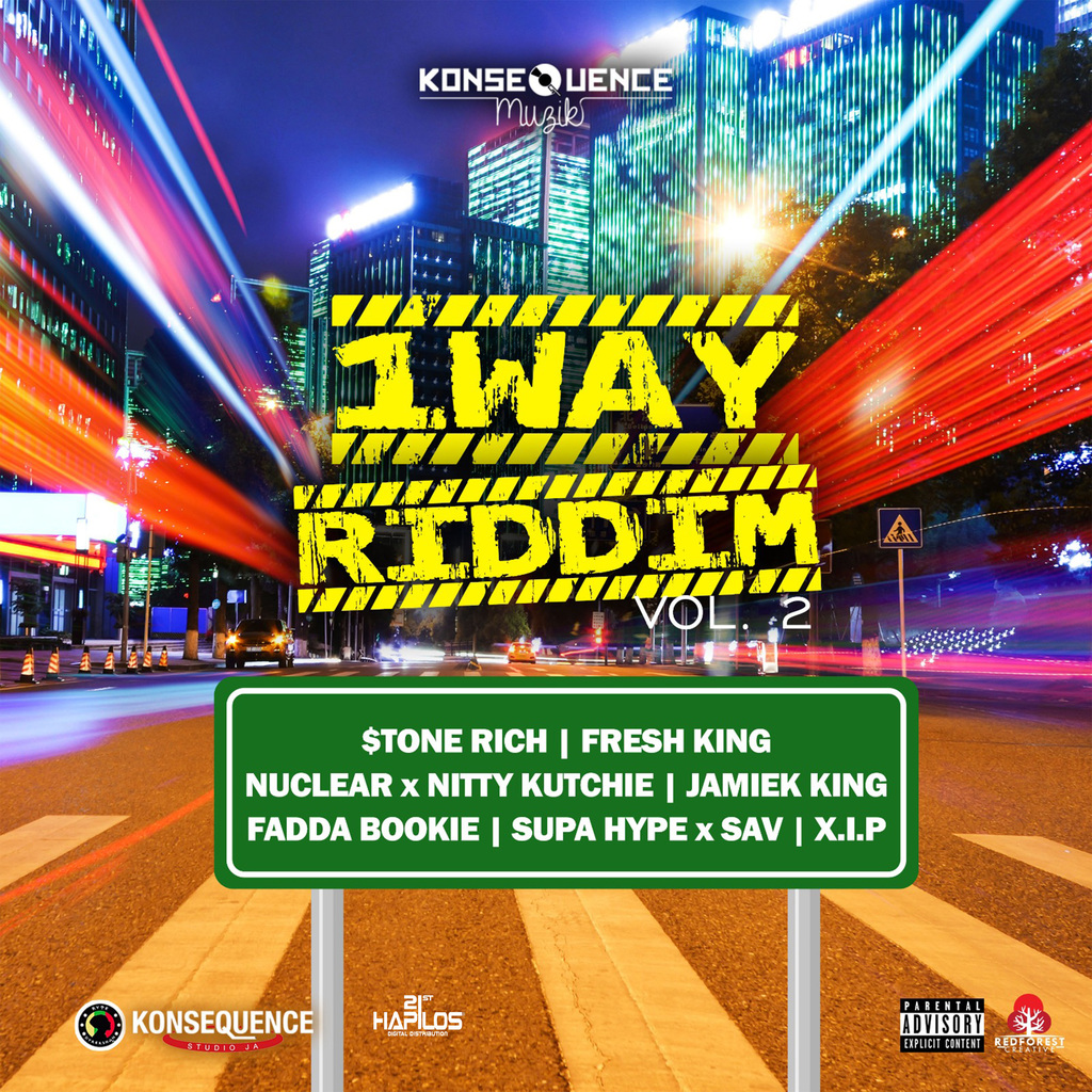 VARIOUS ARTISTS - 1WAY RIDDIM VOL. 2 #ITUNES 4/26/19