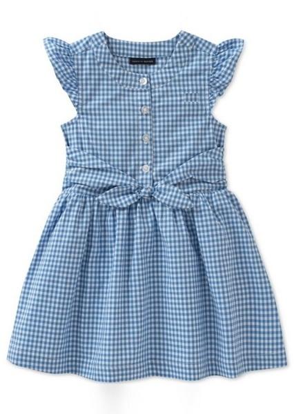 Gingham PolyCotton Dress