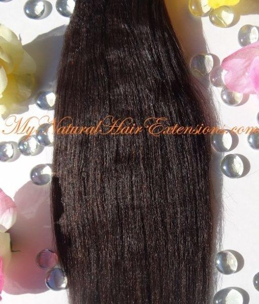 Perm yaki hair weave