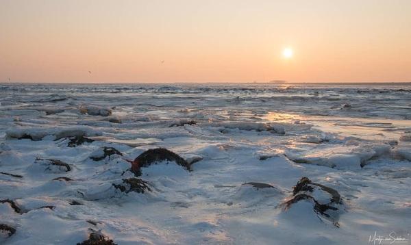 Sunrise over the frozen sea 📸 Nikon D500  #nikond500 #d500 #natuur #nature #ngc #holland #winter #buienradar #natuurmonumenten #nikon #iamnikon #ig_nikon #bestofnetherlands #dutch #rtvnoord #ice #wadden #waddenzee #termunterzijl #sunrise #zoomnl #camera_nu #ig_discover_holland #mooigroningen #defotoblogger