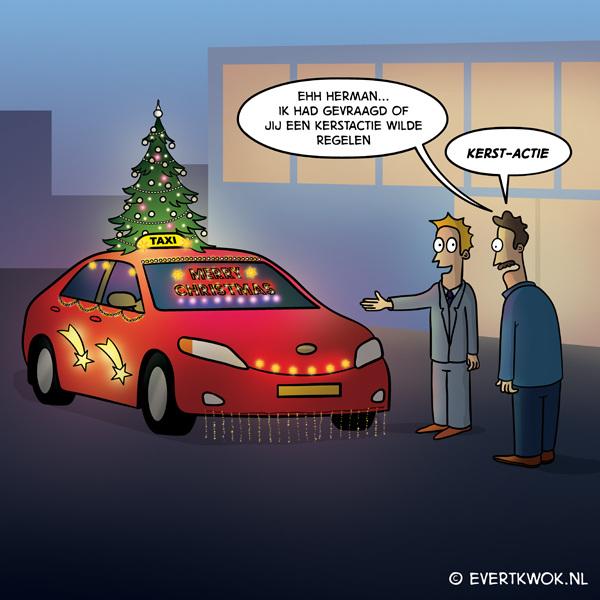 Kerstactie #cartoon