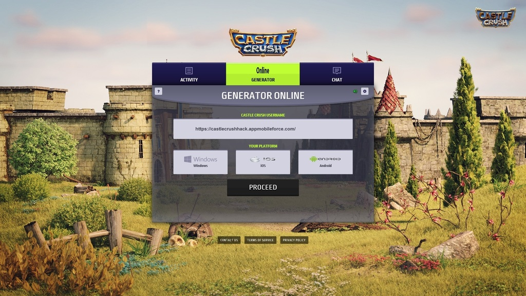 crush the castle 1 hacked unblocked