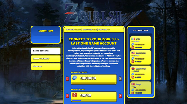 Zgirls II-Last One Hack Cheat Generator Gems and HP