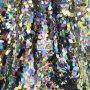 Big Teardrop Sequins Mesh Fabric