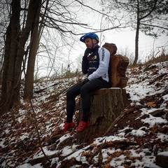 King Colin contemplating the next ride. #dagmarnorthtrails #mountainbiking #shopclosed #dayoff #northerncycle #peacelovebikesandbeer #shopride #sundaytrailride