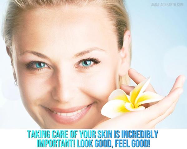 Amala on Earth Skincare Campaign
