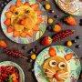 American pancakes kids style🥞🍓🍌 ————————————————- Recept via link in bio #pancakes #american #kids #strawberry #banana #blueberry #fruit #americanpancakes #breakfast #food #recipe @debijenkorf