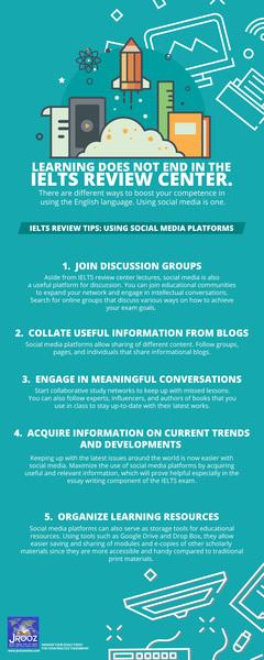 IELTS Review Tips: Using Social Media Platforms