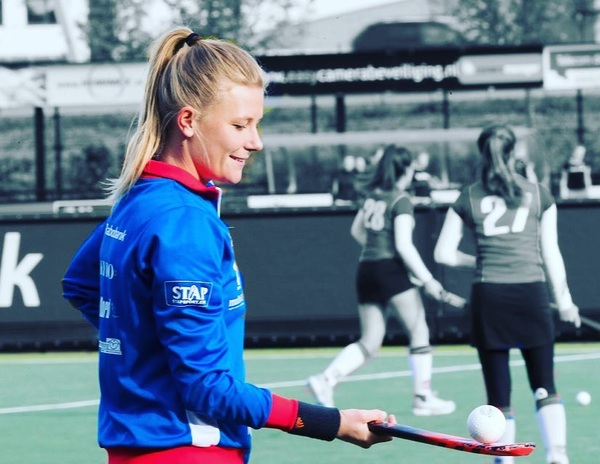 For the love of the game 🏑❤️💙🏑 @willemvernes 📸