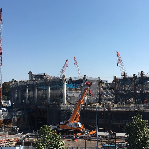Work in progress: National Stadium Tokyo 2020!