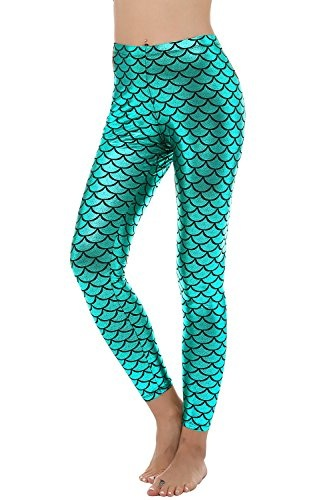 Spandex Mermaid Leggings