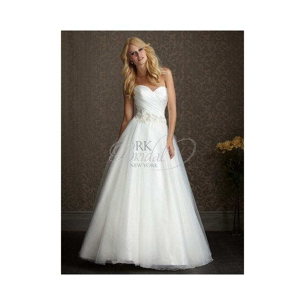 Allure Exclusive Collection Spring 2012 - Style 2500 - Elegant Wedding Dresses|Charming Gowns 2018|Demure Prom Dresses