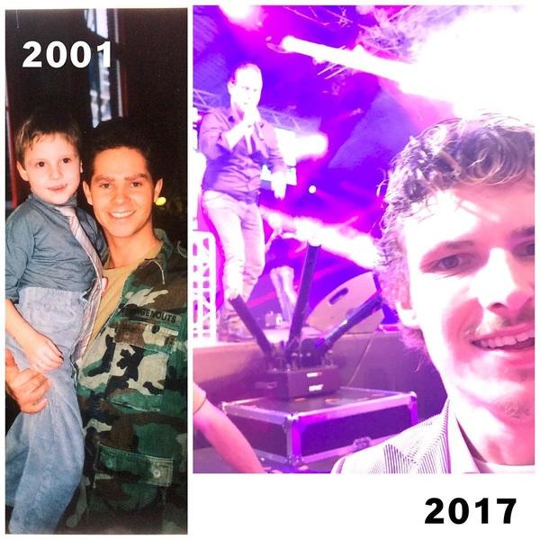 Na 16 jaar weer eens op de foto met @dannydemunk