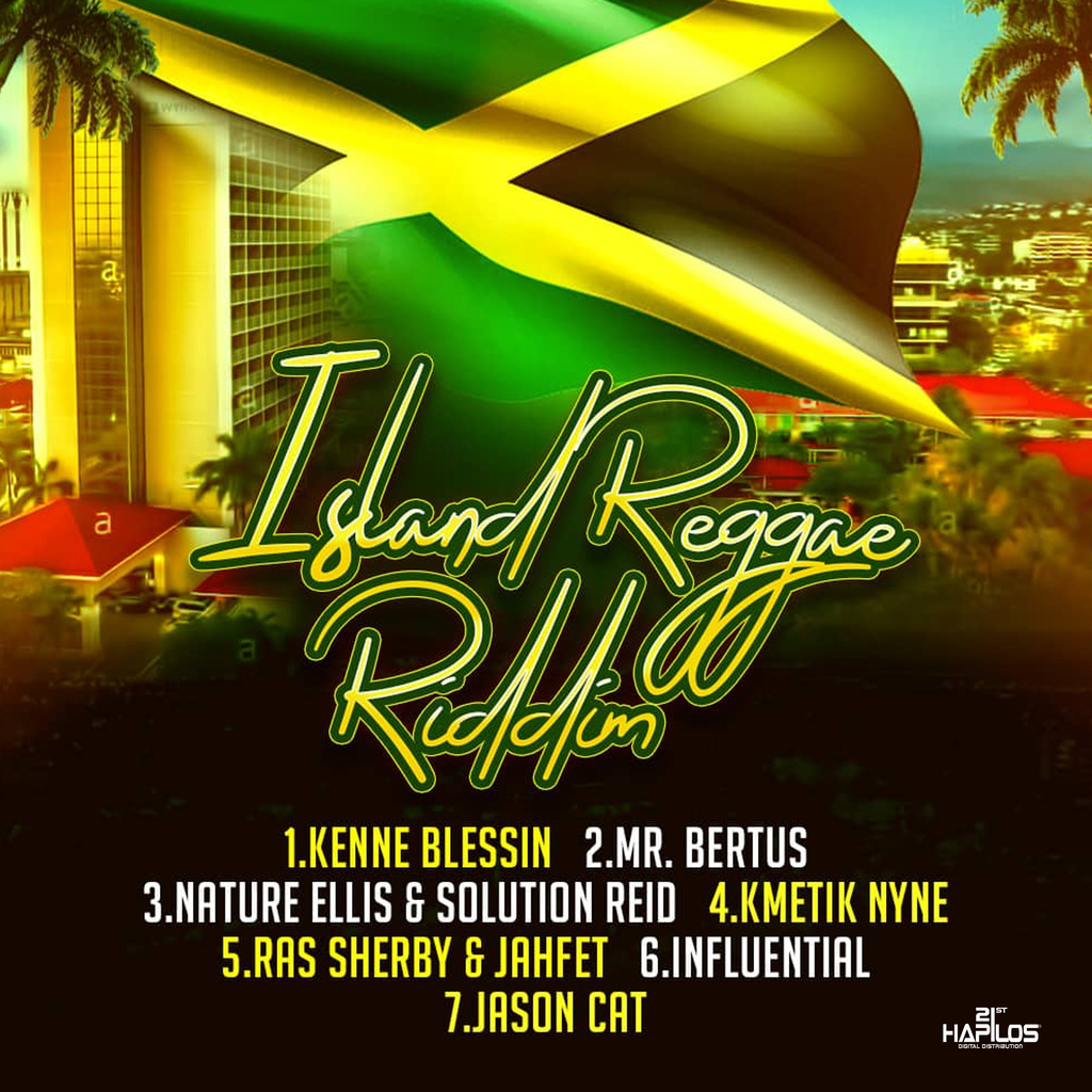 VARIOUS ARTISTS - ISLAND REGGAE RIDDIM #ITUNES 4/26/19 @goldmindproduct