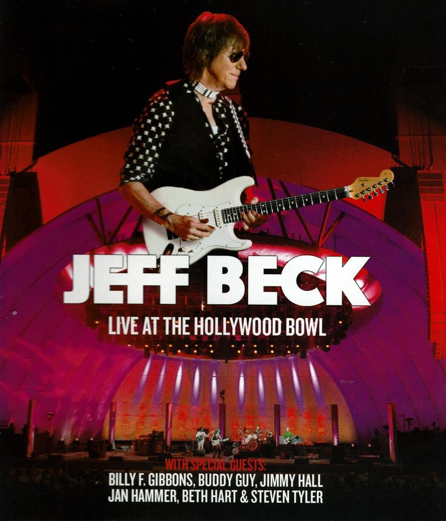 ジェフ・ベック / ライヴ・アット・ザ・ハリウッドボウル2016 (2CD+Blu-ray)